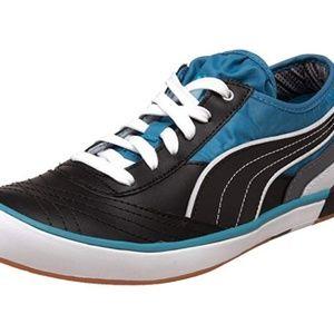 PUMA Nouli Lo Sneaker,Steel Grey/Blue,10 B(M) US